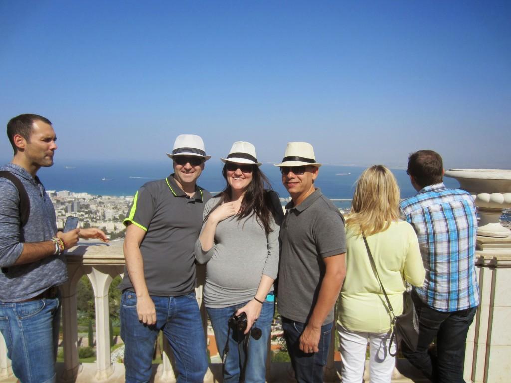 Ronen, Gadi and myself